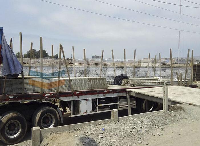 Proyecto Cañete Prefabricados Concreto Lima Peru