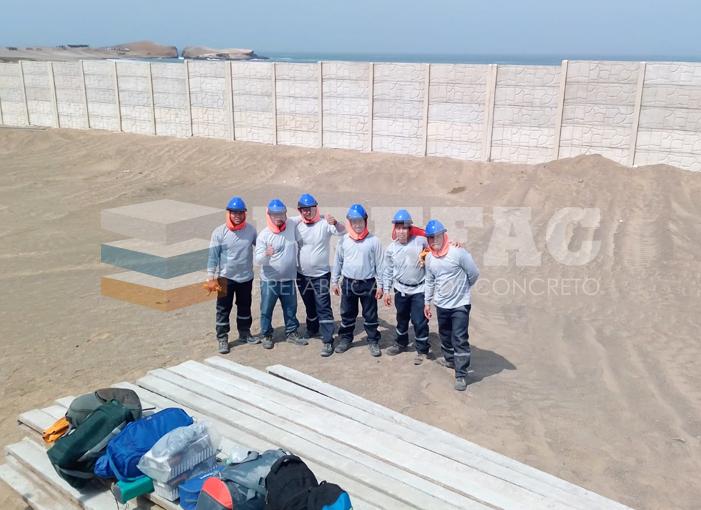 Muros Prefabricado de Concreto Perú